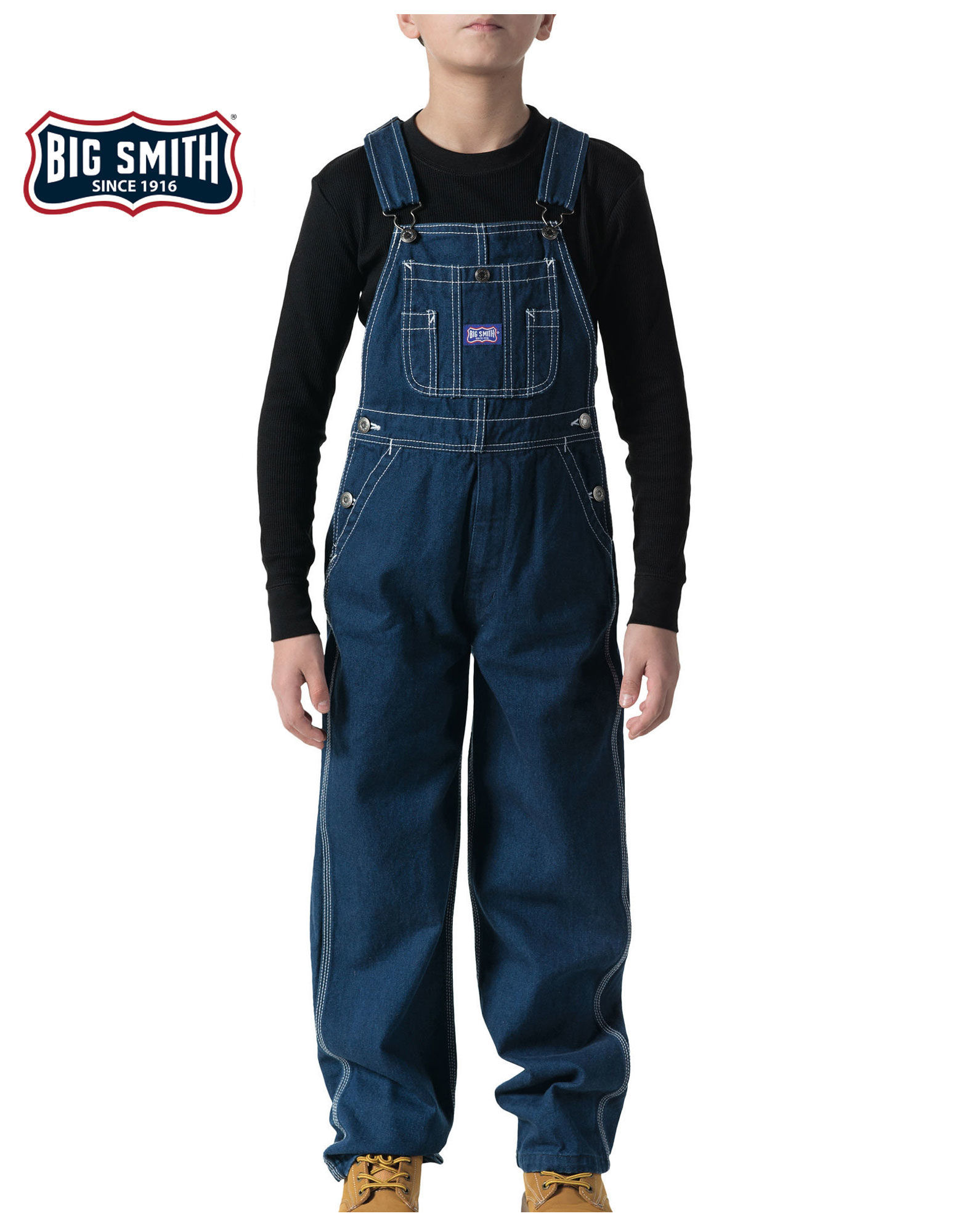 Big Smith Youth Boy Bib Overalls