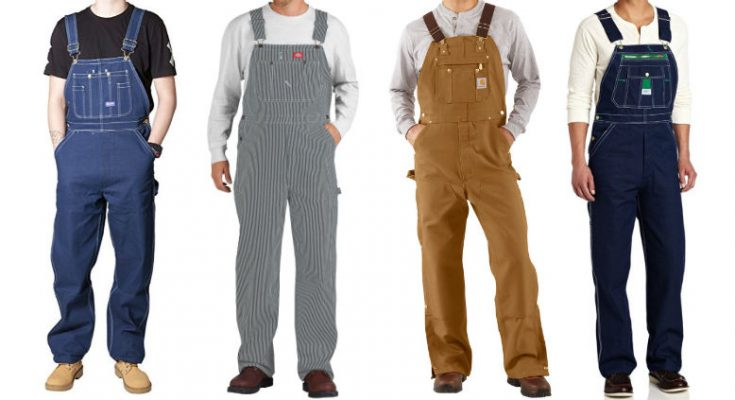 cheap overalls for men