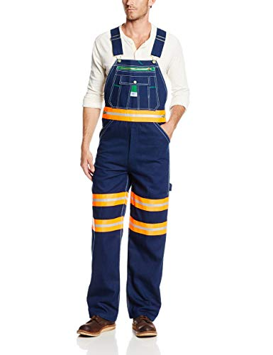 Liberty Men's Hi-Vis Reflective Bib Overall