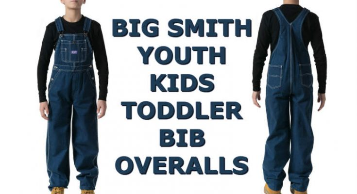 Big Smith Youth Kids Toddler Bib Overalls
