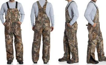 Carhartt Bib Overalls Camo Quilted Lined Realtree Xtra