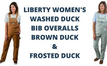 Lady Liberty Women's Duck Bib Overalls